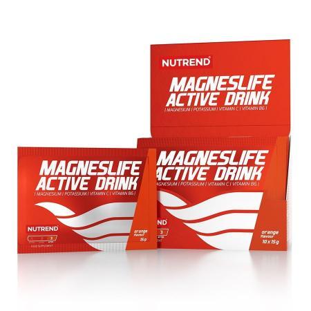 Nutrend MagnesLife Active Drink, 10*15 грам