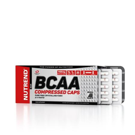 Nutrend BCAA Compressed, 120 капсул
