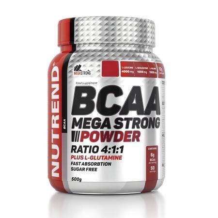 Nutrend BCAA Mega Strong, 500 грамм