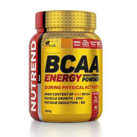 Nutrend BCAA Energy Mega Strong, 500 грамм