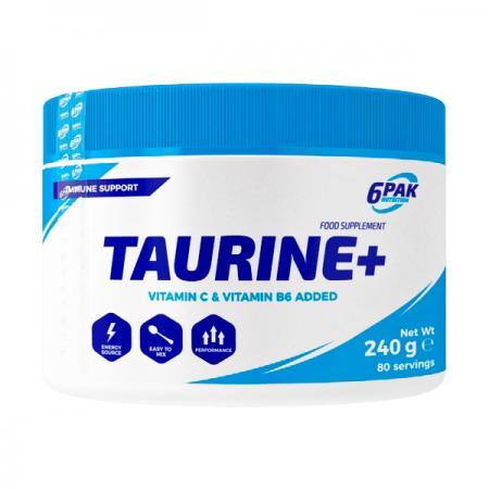 6PAK Nutrition Taurine+, 240 грамм