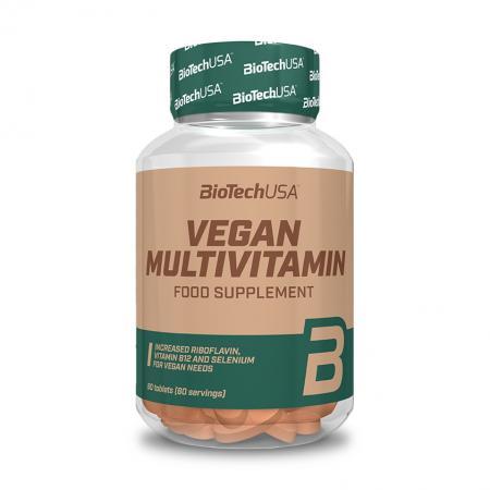BioTech Vegan Multivitamin, 60 таблеток