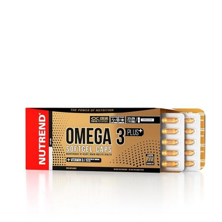 Nutrend Omega 3 Plus Compressed, 120 капсул