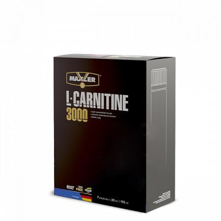 Maxler L-Carnitine Comfortable Shape 3000, 7*25 мл