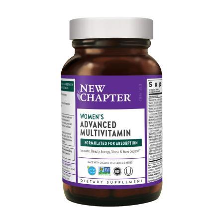 New Chapter Man's Advanced Multivitamin