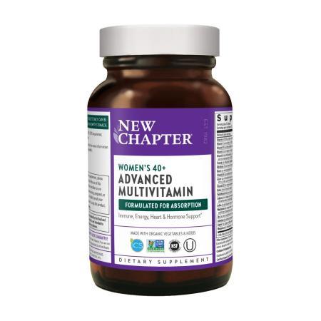 New Chapter Women's Advanced 40+ Multivitamin