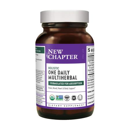 New Chapter One Daily Multiherbal Holistic, 30 капсул