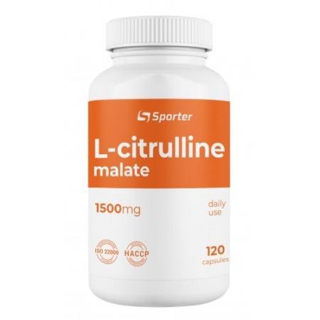 Sporter L-Citrulline 1500 mg, 120 капсул