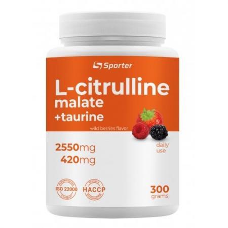 Sporter L-Citrulline Malate, 300 грамм