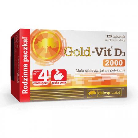 Olimp Gold-Vit D3 2000 Forte, 120 капсул