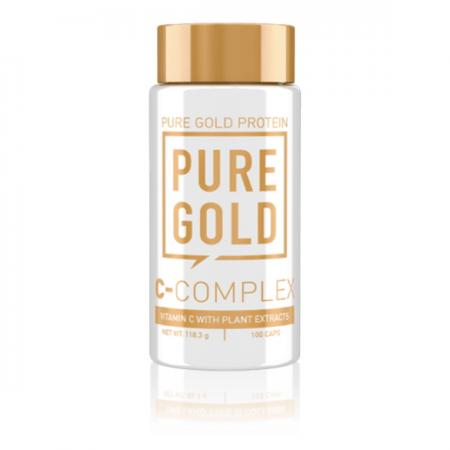 Pure Gold Protein C-Complex, 100 капсул