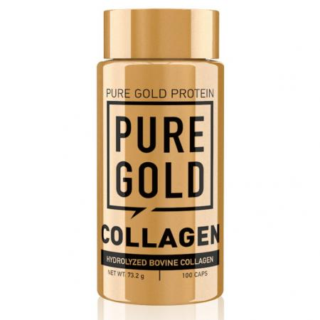 Pure Gold Protein Collagen, 100 капсул