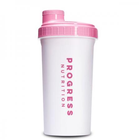 Progress Nutrition 700 мл, бело-розовый