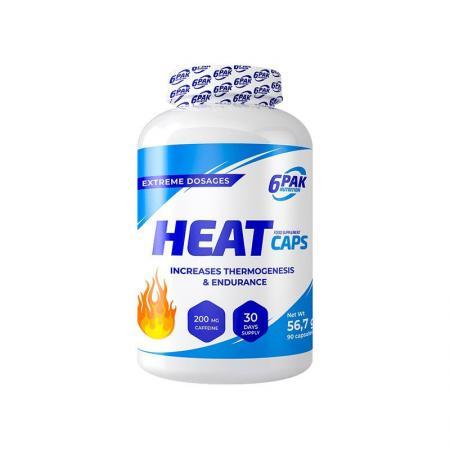 6PAK Nutrition Heat Caps, 90 капсул