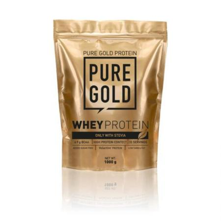 Pure Gold Protein Whey Protein Stevia, 1 кг