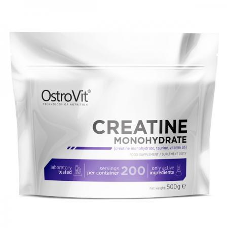 OstroVit Creatine Monohydrate, 500 грамм - пакет