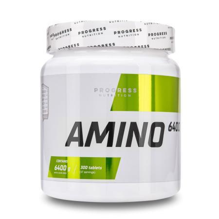 Progress Nutrition Amino 6400, 300 таблеток