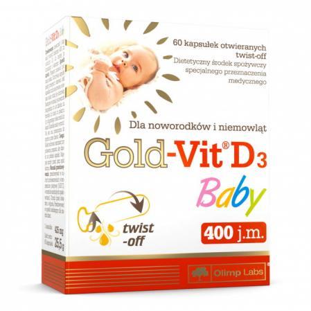 Olimp Gold-Vit D3 Baby, 30 капсул