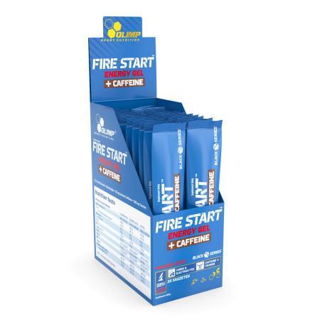 Olimp Fire Start Energy Gel+Caffeine, 20*36 грамм