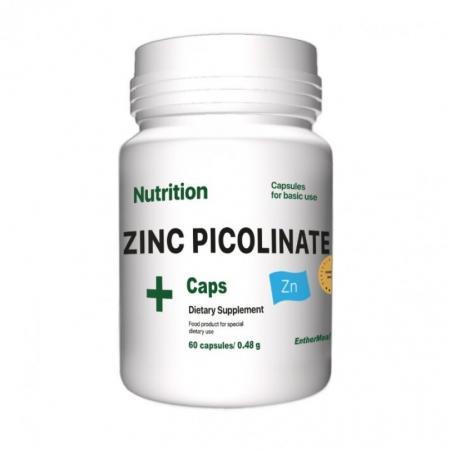 EntherMeal Zinc Picolinate, 60 капсул
