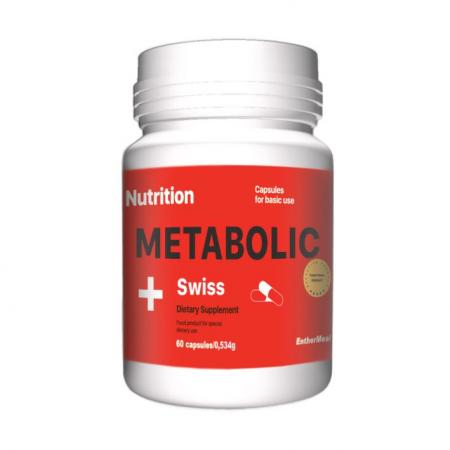EntherMeal Metabolic Swiss, 60 капсул