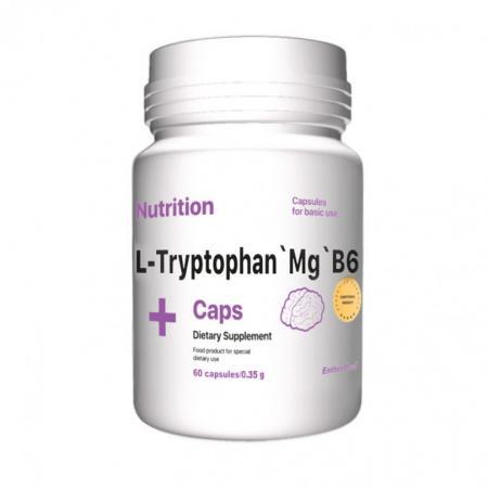 EntherMeal L-Tryptophan`Mg`B6, 60 капсул
