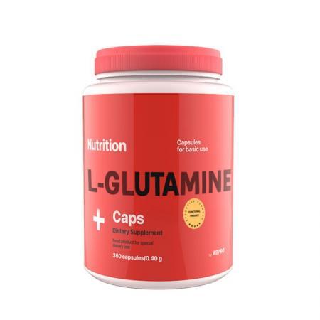AB Pro L-Glutamine Caps, 360 капсул