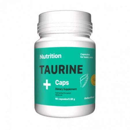EntherMeal Taurine, 60 капсул