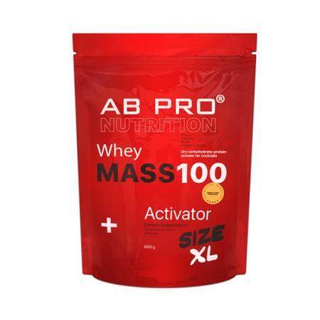 AB Pro Mass 100 Whey Activator, 2.6 кг