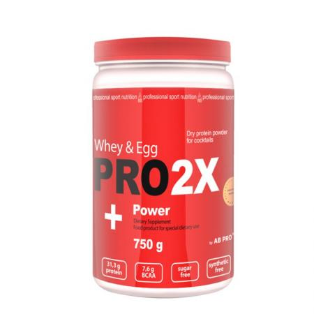 AB Pro Pro 2X Whey&Egg Power, 750 грамм