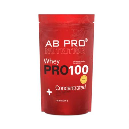 AB Pro Pro 100 Whey Concentrated, 18*36 грамм