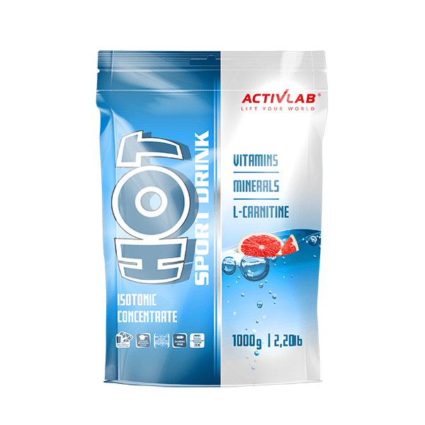 Activlab Hot Sport Drink, 1 кг