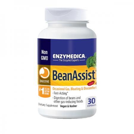 Enzymedica Bean Assist, 30 капсул