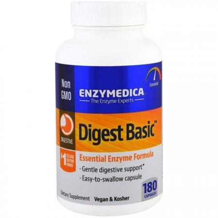 Enzymedica Digest Basic, 180 капсул