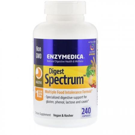 Enzymedica Digest Spectrum, 240 капсул