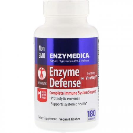 Enzymedica Enzyme Defense, 120 капсул