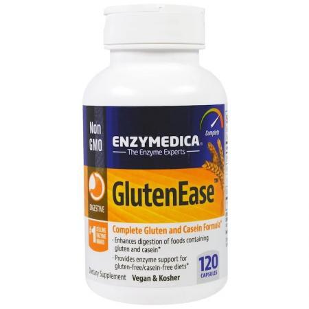 Enzymedica Gluten Ease, 120 капсул