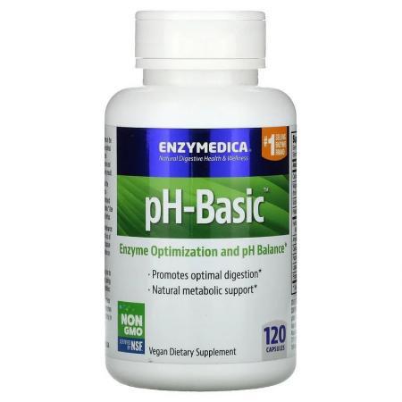 Enzymedica pH-Basic, 30 капсул