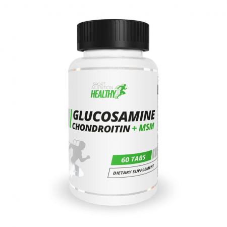 Healthy by MST Glucosamine Chondroitin + MSM, 60 таблеток