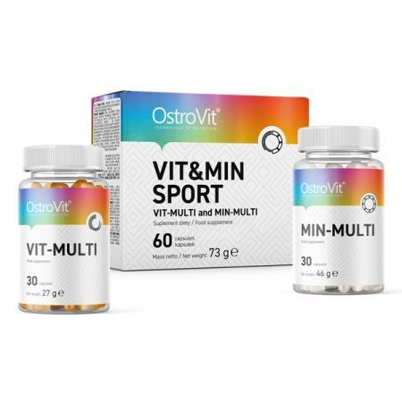 OstroVit Vit&Min Sport, 60 капсул