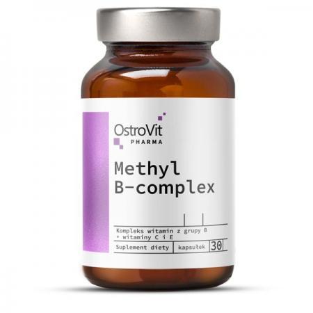 OstroVit Pharma Methyl B-Complex, 30 капсул
