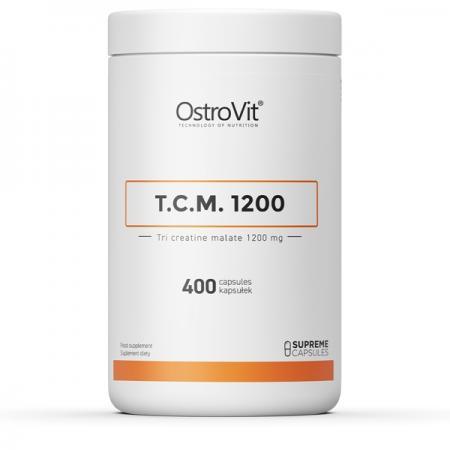 OstroVit Tri Creatine Malate 1200, 400 капсул