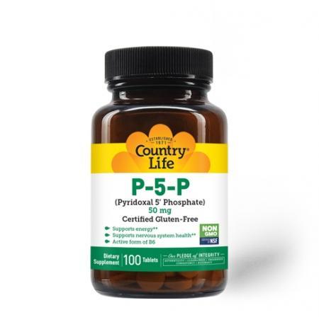 Country Life P-5-P, 100 таблеток
