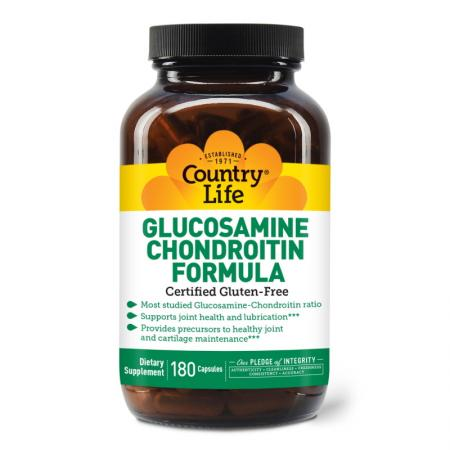 Country Life Glucosamine Chondroitin Formula, 180 капсул