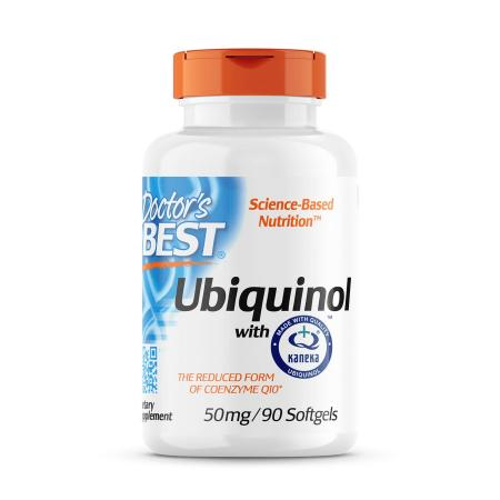 Doctor's Best Ubiquinol with Kaneka 50 mg, 90 капсул