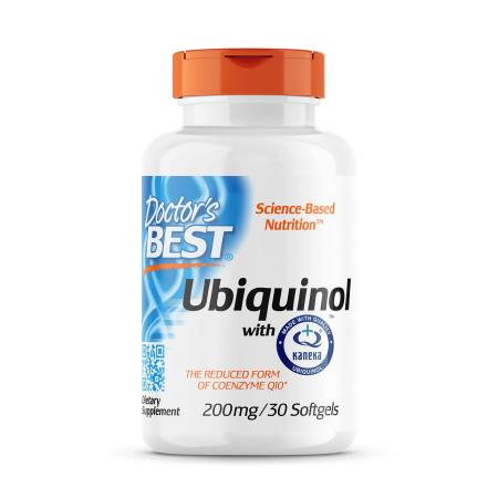 Doctor's Best Ubiquinol with Kaneka 200 mg, 30 капсул
