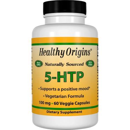 Healthy Origins 5-HTP 100 mg, 60 капсул