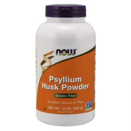 NOW Psyllium Husks Powder, 340 грамм