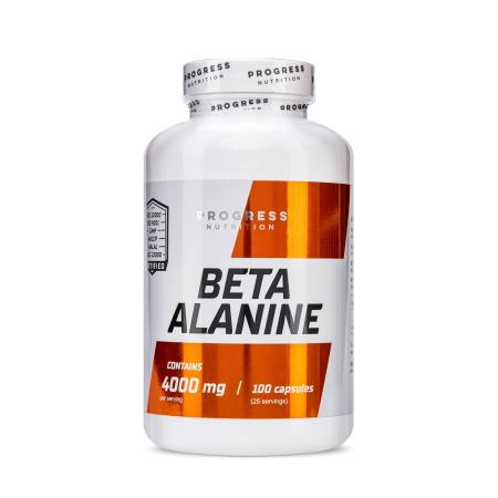 Progress Nutrition Beta Alanine, 100 капсул