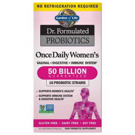 Garden of Life Dr. Formulated Once Daily Women's, 30 вегакапсул
